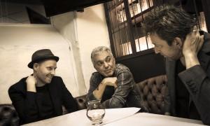 Michael Blicher, Steve Gadd og Dan Hemmer. Bøbenhavn d. 10.11-13