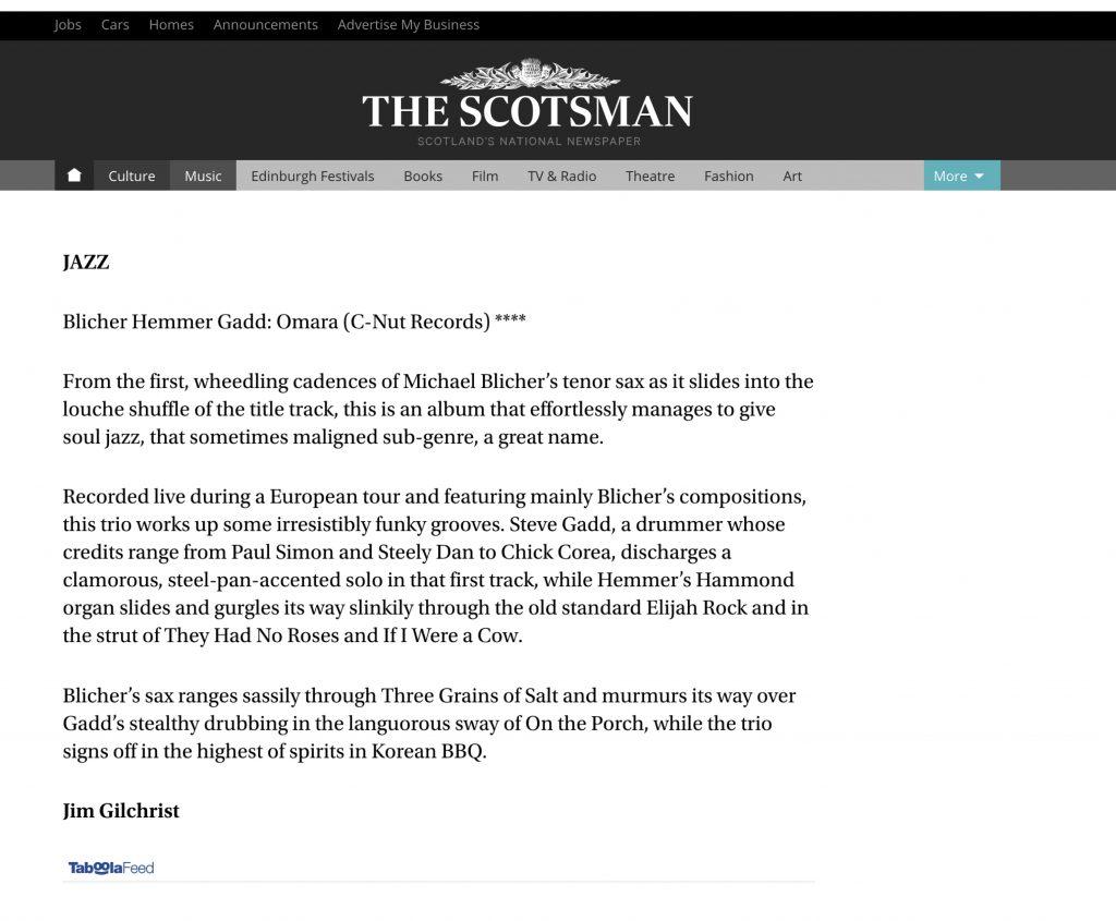 "3-Star ""Omara"" Review - The Scotsman"
